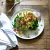 Summer Wedge Salad with Charred Corn and Blue Cheese-Avocado Dressing