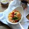 Spicy Lemon Shrimp Pasta