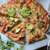 Crispy Carnitas Enchilada Pizza