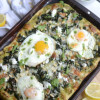 Super Greens Breakfast Pizza