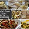 Weekly Meal Plan - Week 12
