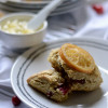 Candied Orange and Cranberry Scones