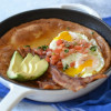 Savory Bacon and Eggs Dutch Baby