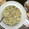 Creamy Vegetable and Wild Rice Soup