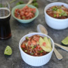 Slow Cooker Five Bean Beer Chili
