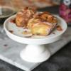 Coffee Milk Stout Glazed Cinnamon Rolls with Bacon