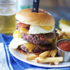 Ron Swanson Breakfast Burgers