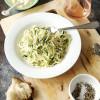 Zucchini Noodle Brown Butter Cacio e Pepe