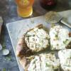 Burrata, Pesto, & Pistachio Pizza