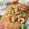 Cucumber, Gorgonzola, and Nectarine Salad