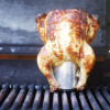 Smoked Maple Dijon Beer Can Chicken