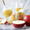Hard Cider Sorbet Floats