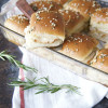 Baked Leftover Turkey and Swiss Sliders