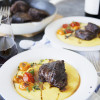 Pressure Cooker Red Wine Braised Short Ribs