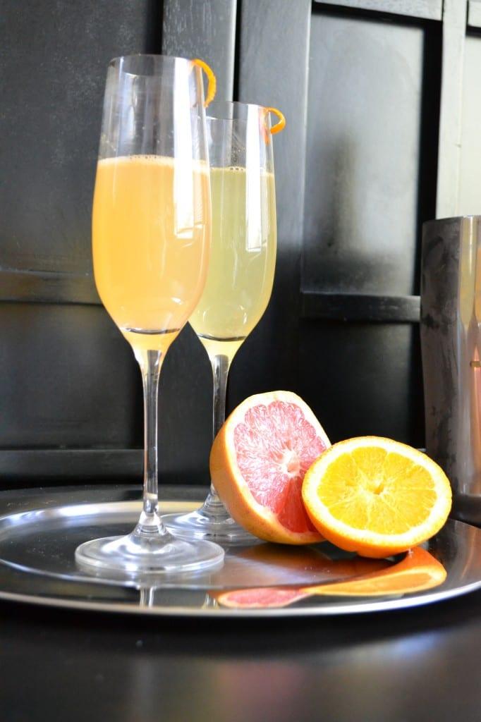 Grapefruit & Orange Sparkler