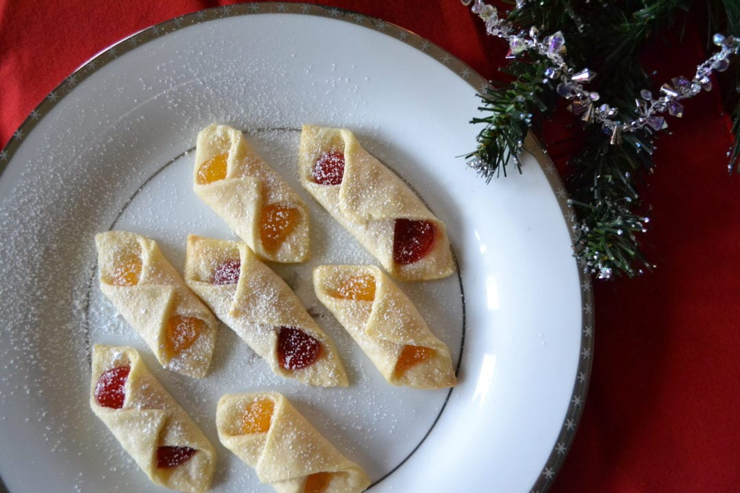 place on an ungreased cookie - Kolacky Polish Christmas Cookies