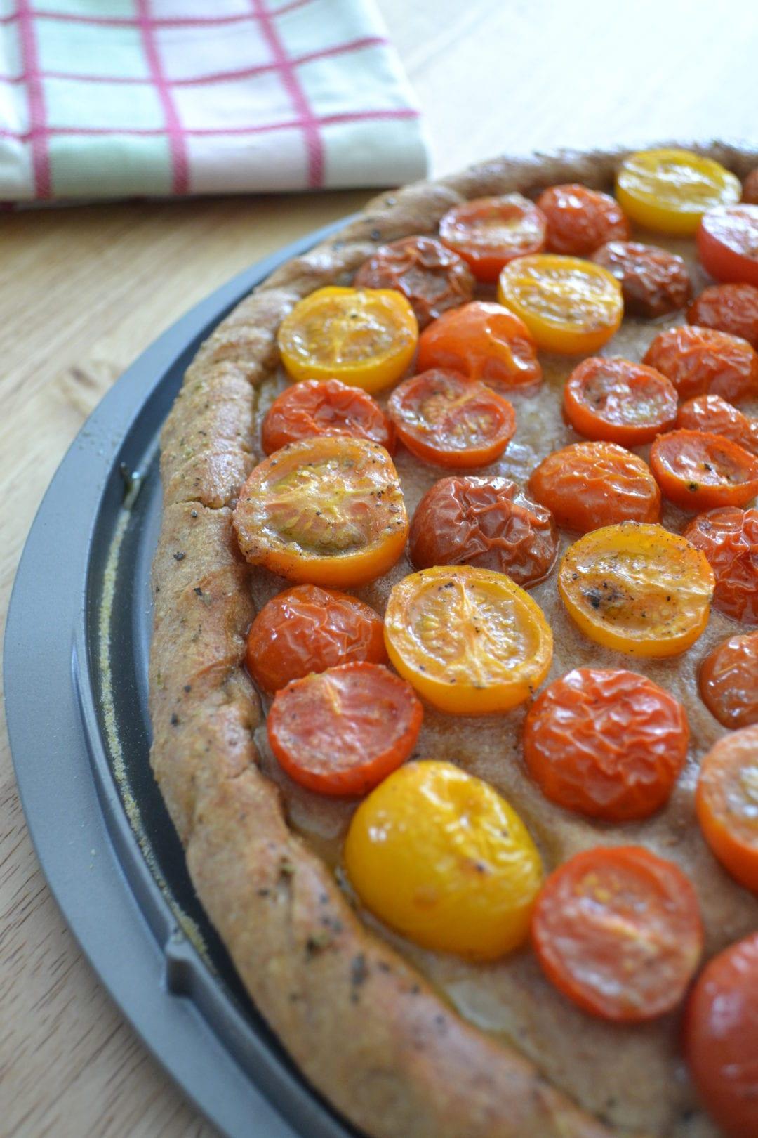 Heirloom Tomato Pizza | Sarcastic Cooking