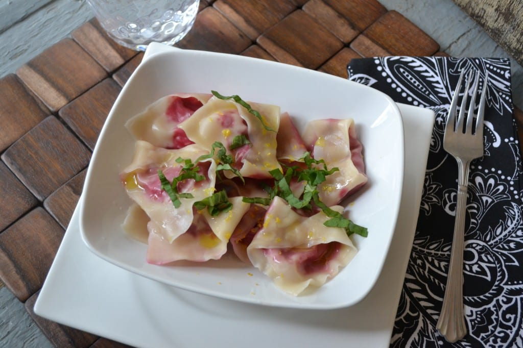 Lemon And Goat Cheese Ravioli Recipes — Dishmaps