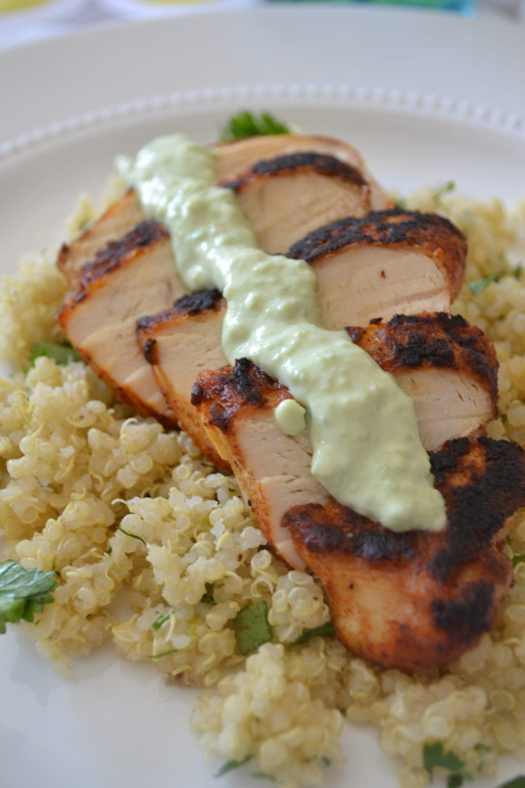 Blackened chicken and cilantro lime quinoa things ccuart Choice Image
