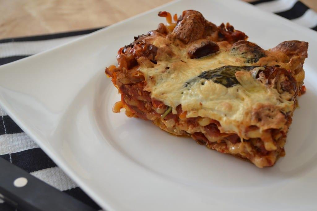 Baked Caprese Pasta