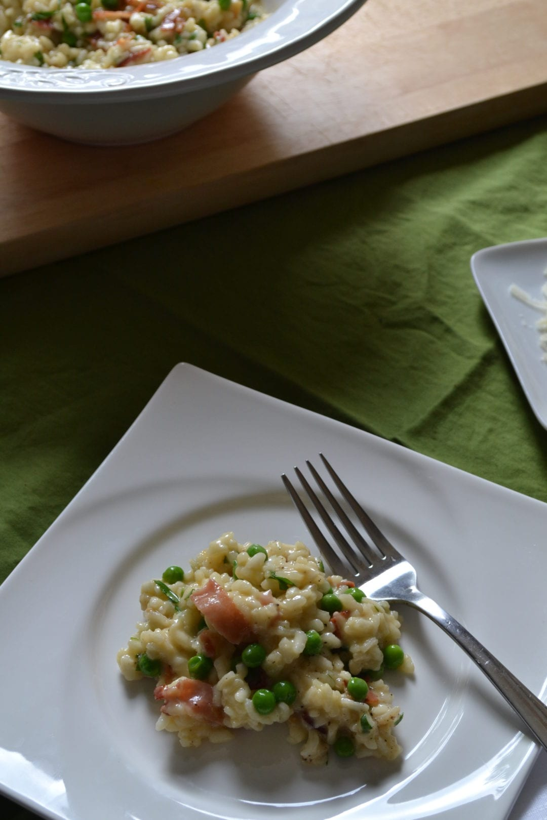 Risotto Carbonara Recipe — Dishmaps