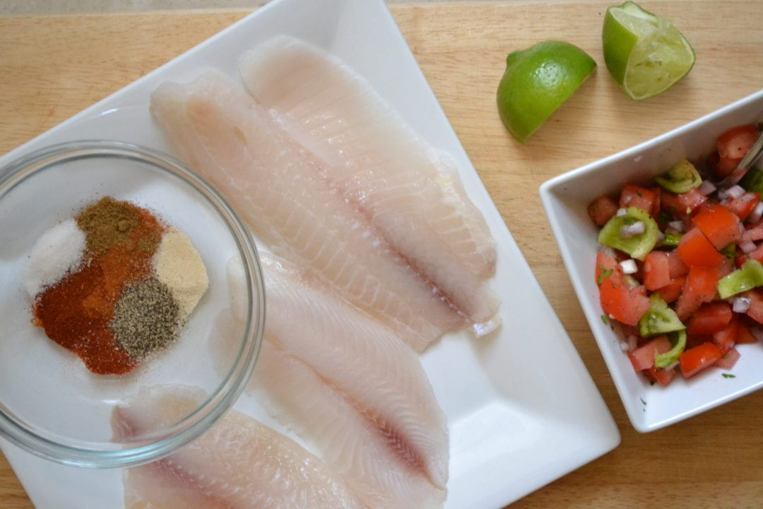 How to Season Tilapia http://www.sarcasticcooking.com/2012/06/20/blackened-tilapia-tacos/