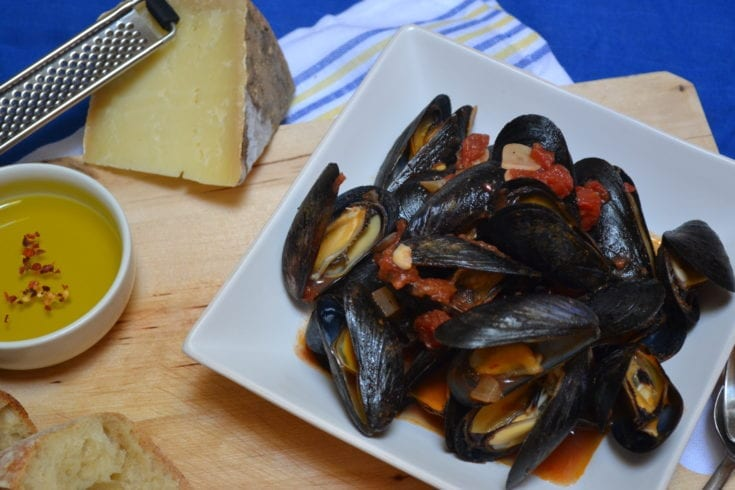 Mussels Arrabiata