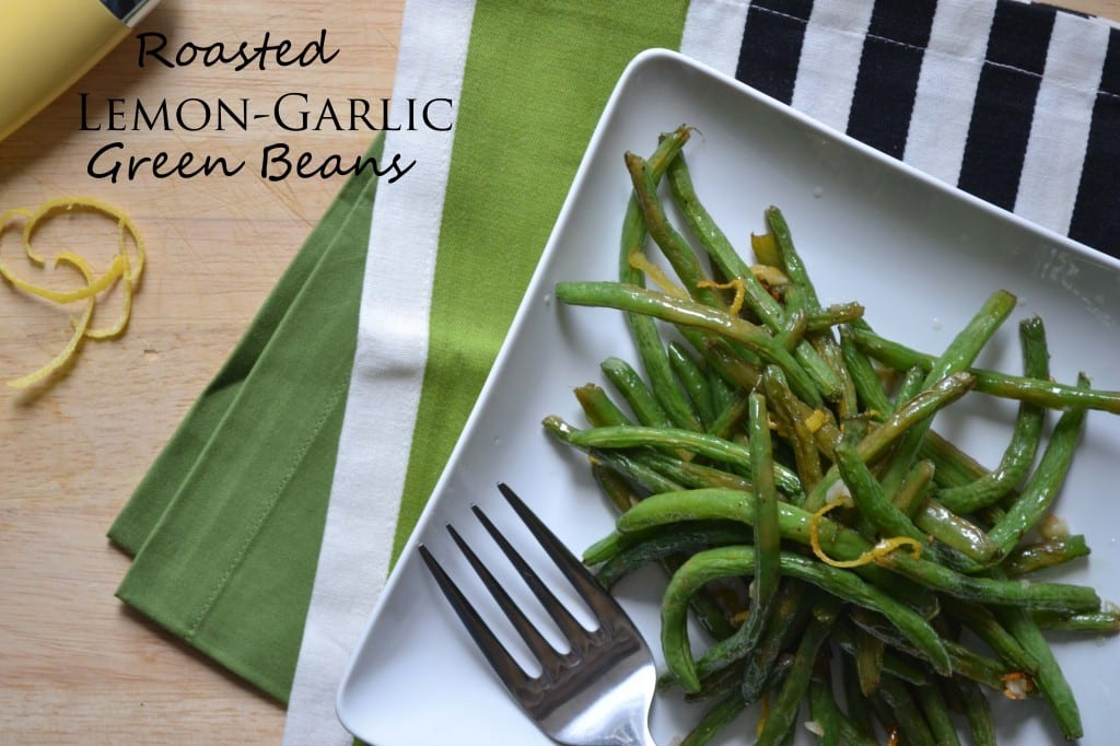 make these roasted green beans at least once every other week. They ...