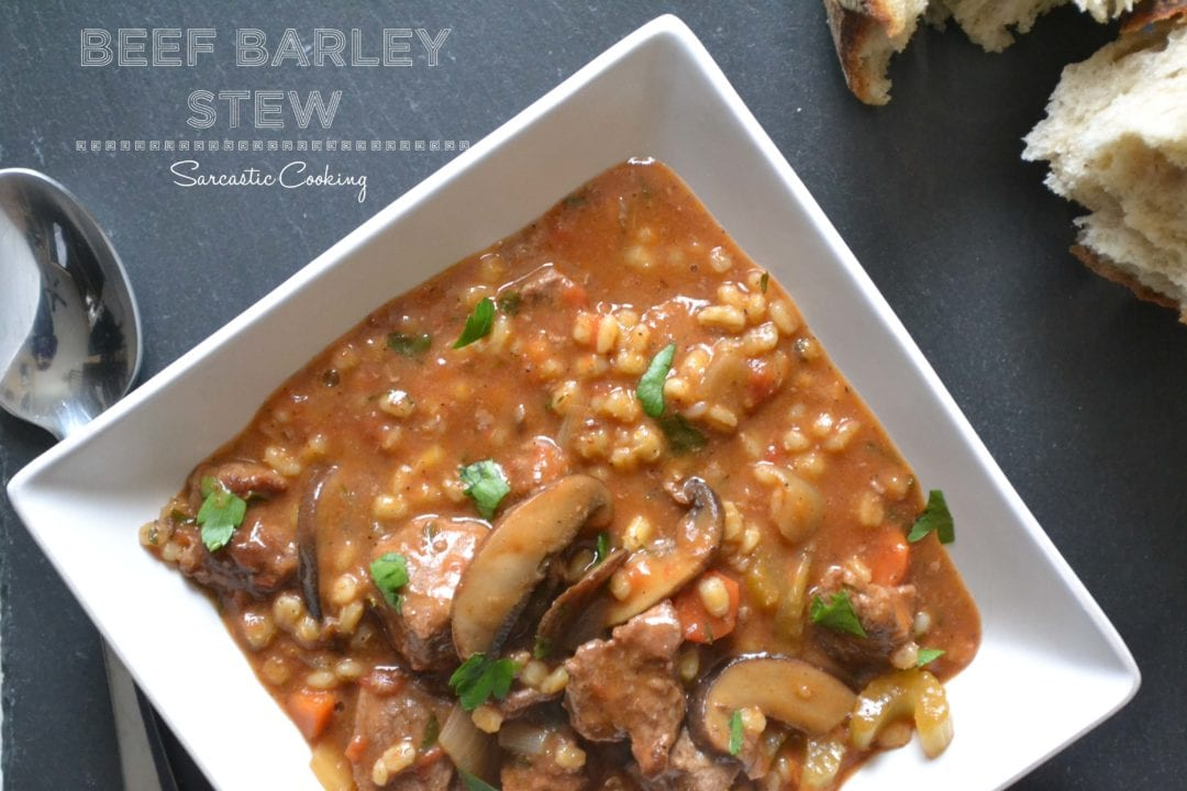 Short Rib And Barley Stew Recipe — Dishmaps