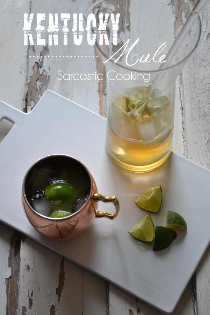 Kentucky Mule - Sarcastic Cooking
