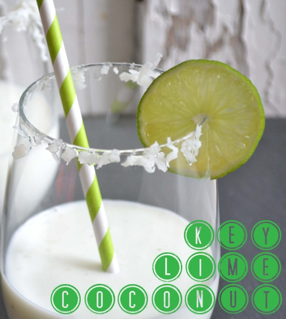 Key Lime-Coconut Frozen Drinks - Sarcastic Cooking