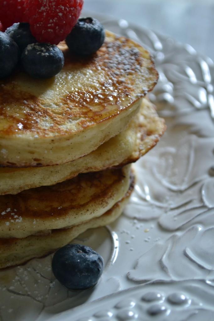 Vanilla Bean Buttermilk Pancakes | Sarcastic Cooking
