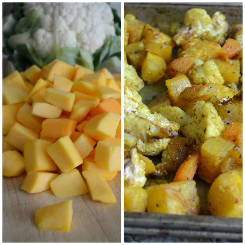 BUTTERNUT and Cauliflower