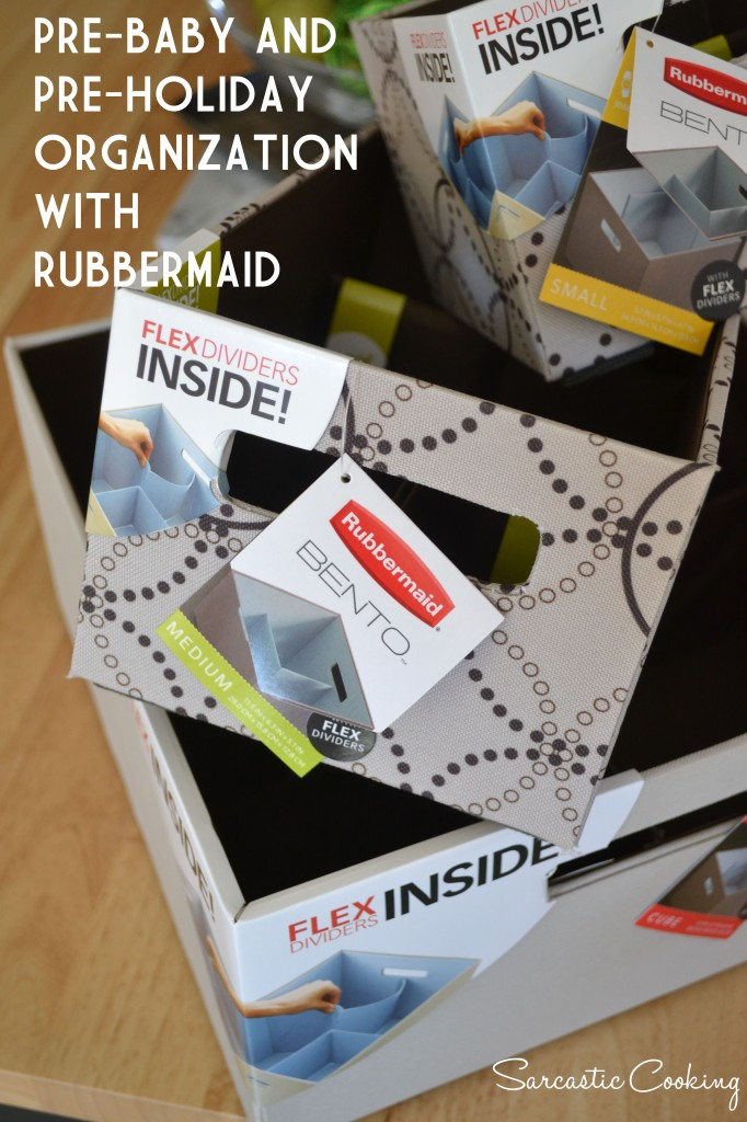 Organizing with Rubbermaid Bento - Sarcastic Cooking