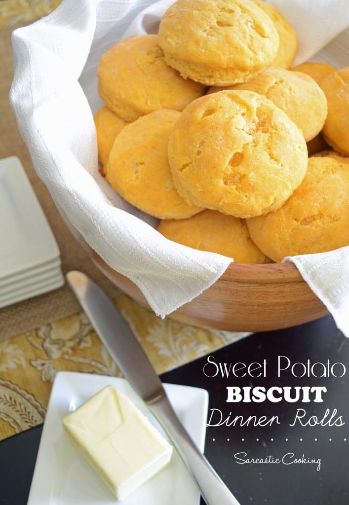 Sweet Potato Biscuit Dinner Rolls