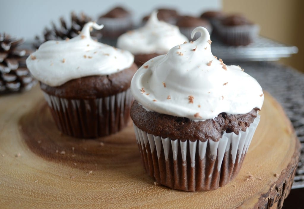 Gluten Free Hot Cocoa Cupcakes - Sarcastic Cooking