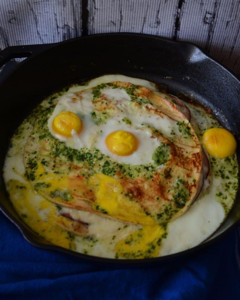 Spanish Ham and Egg Quesadilla