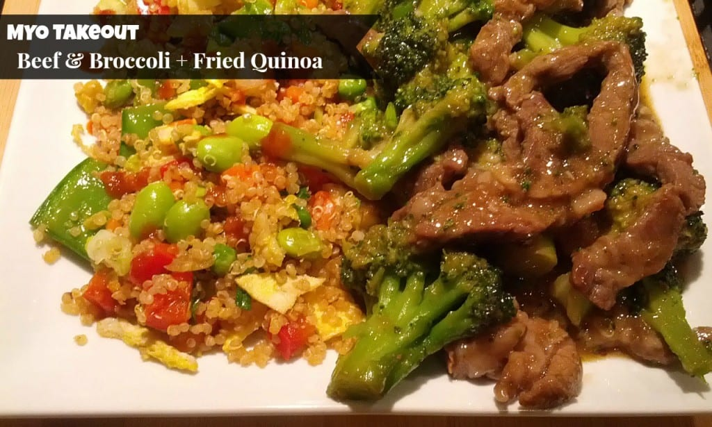 MYO Takeout: Beef and Broccoli