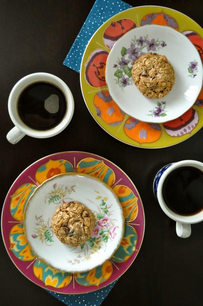 Kitchen Sink Breakfast Cookies