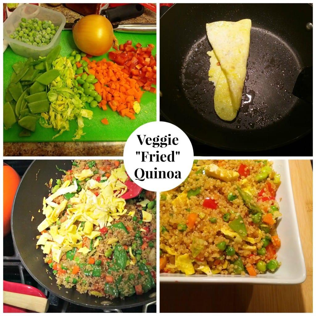 Veggie Fried Quinoa