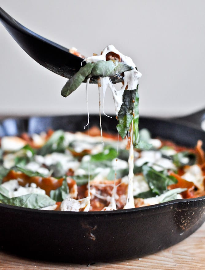 How Sweet It Is - Skillet Lasagna