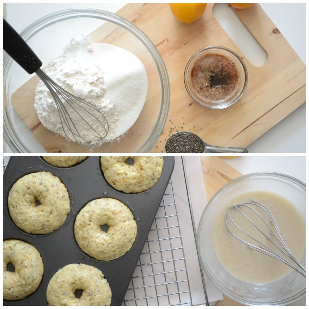 Baked Meyer Lemon Doughnuts