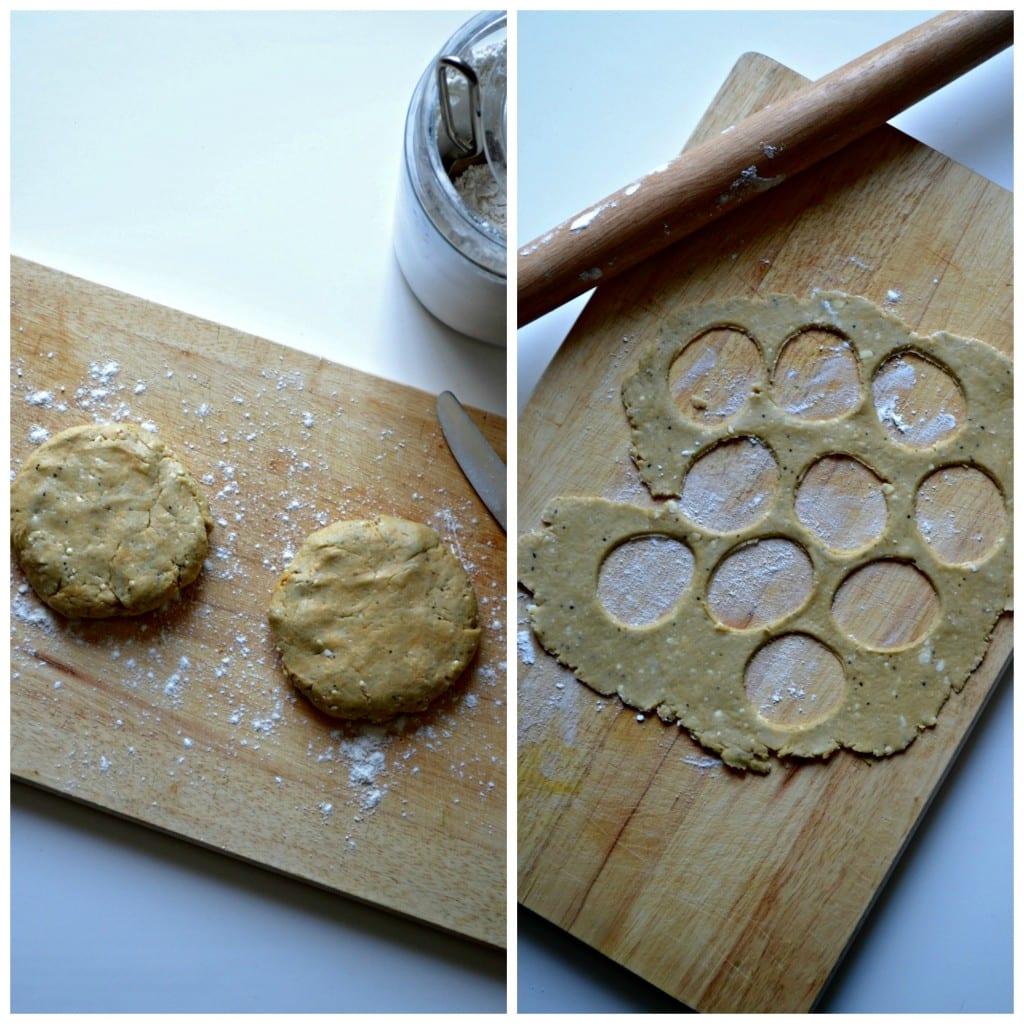 Buffalo Blue Cheese Crackers