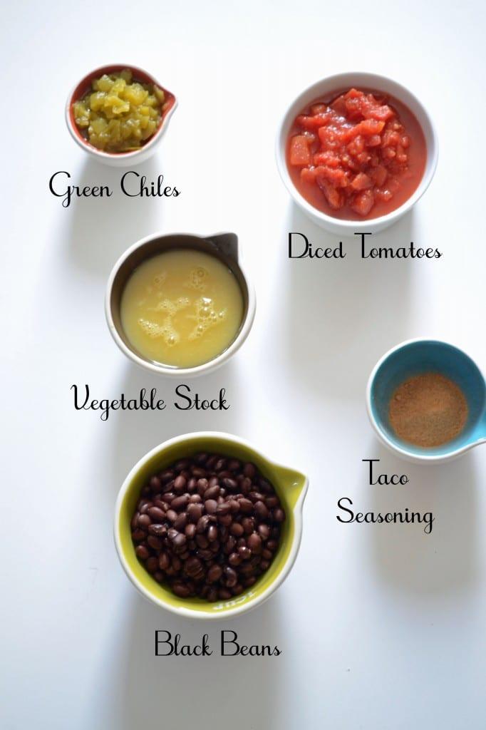 5 Ingredient Black Bean Soup