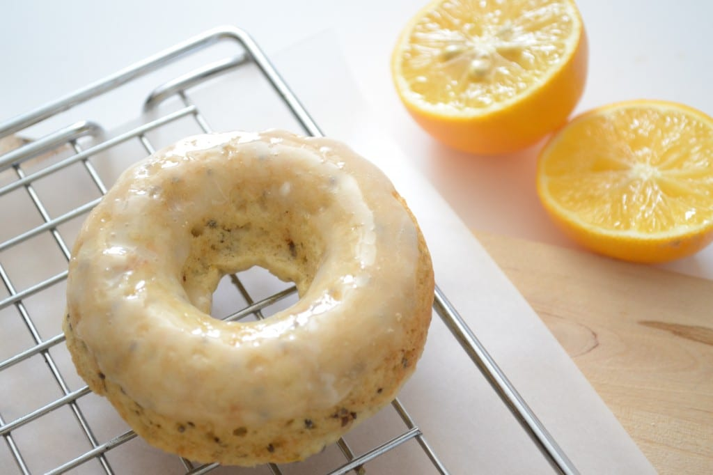 Baked Meyer Lemon Chia Seed Doughnuts | Sarcastic Cooking