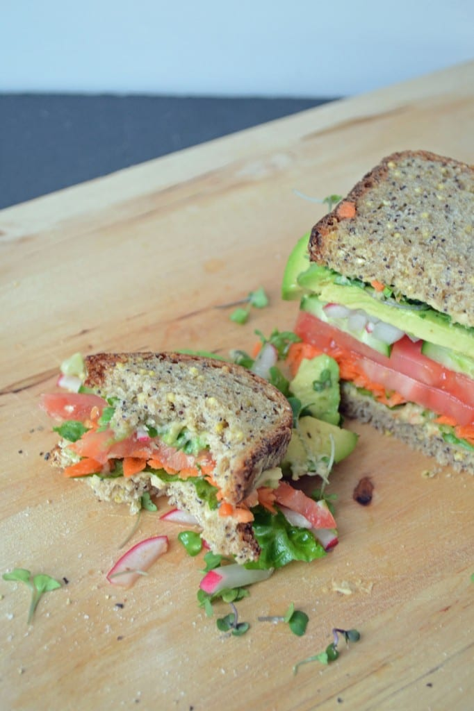 California Veggie Sandwich | Sarcastic Cooking