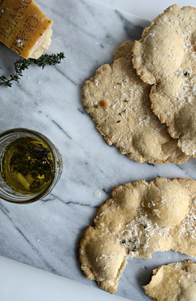 Garlic and Thyme Whole Wheat Flatbread | Sarcastic Cooking