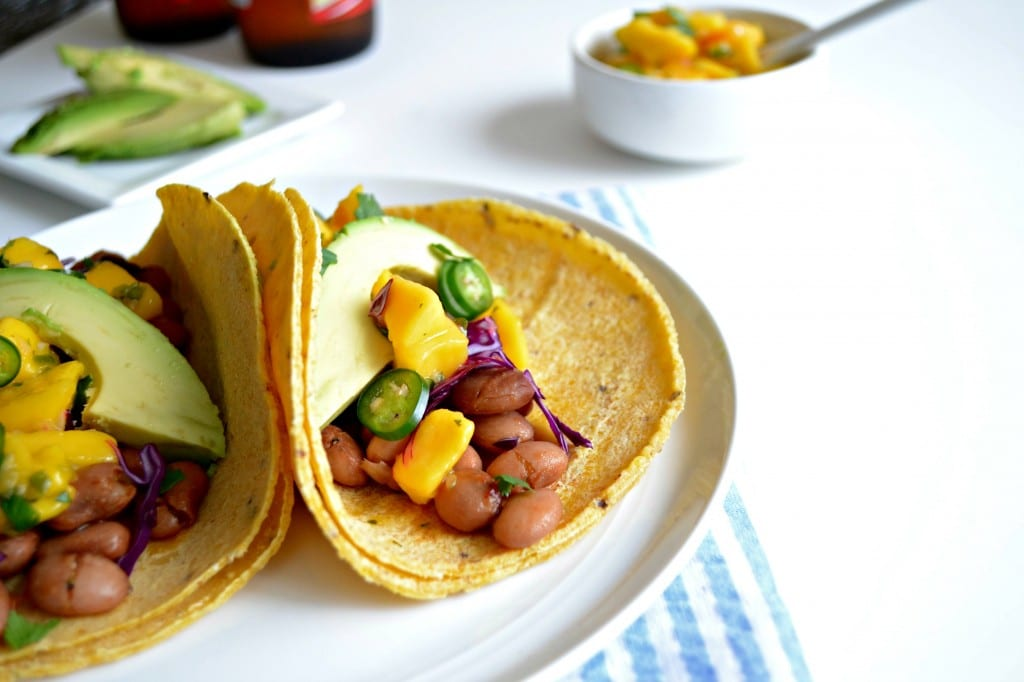 Sweet and Spicy Pinto Bean Tacos \ Sarcastic Cooking