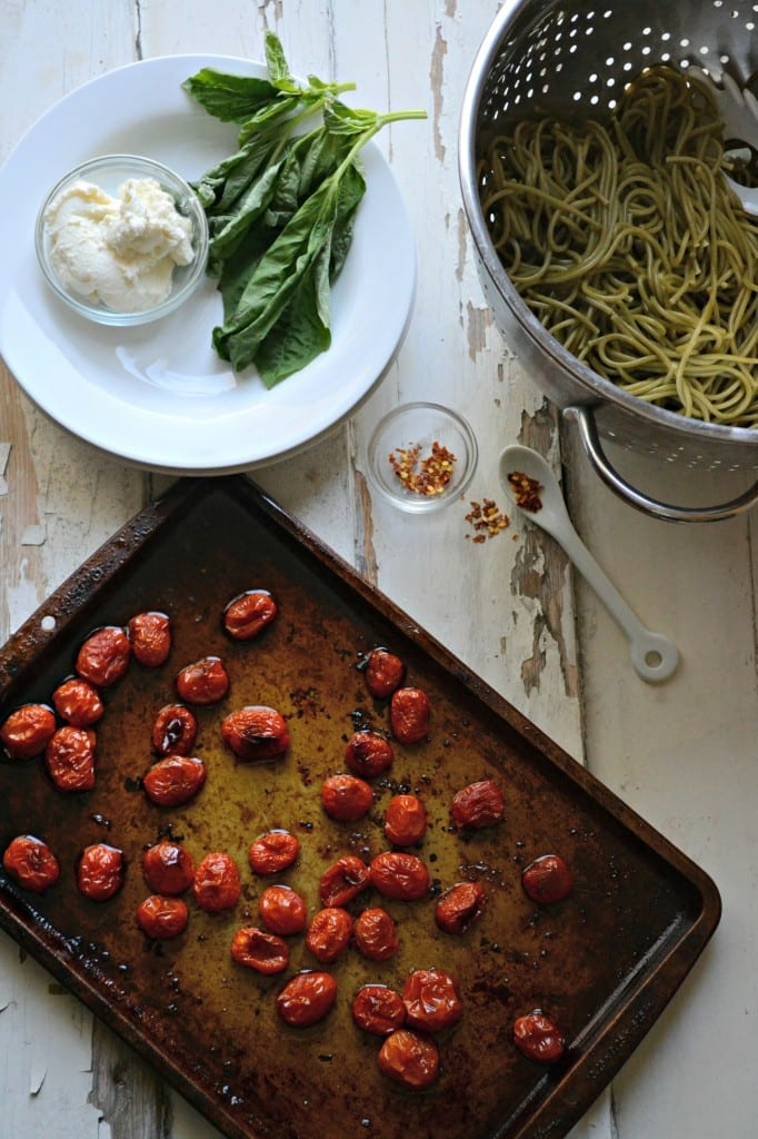 Blistered Tomato and Ricotta Pasta \\ Sarcastic Cooking