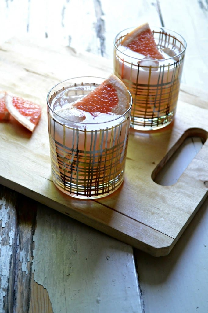 Grapefruit Whiskey Sour  Sarcastic Cooking